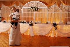 Bride Dancing with a little boy