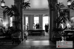 Wedding Ceremony inside at Parkwood Estate