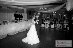 First dance as a married couple