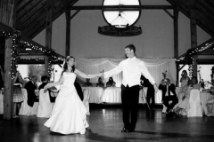 The Bride and Groom's first dance together
