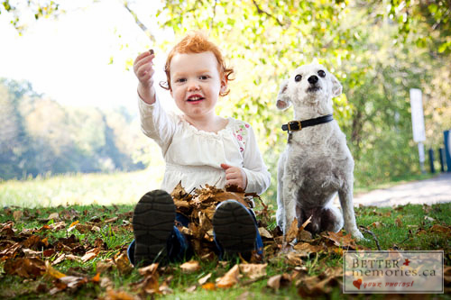 Fall Portraits Outdoors