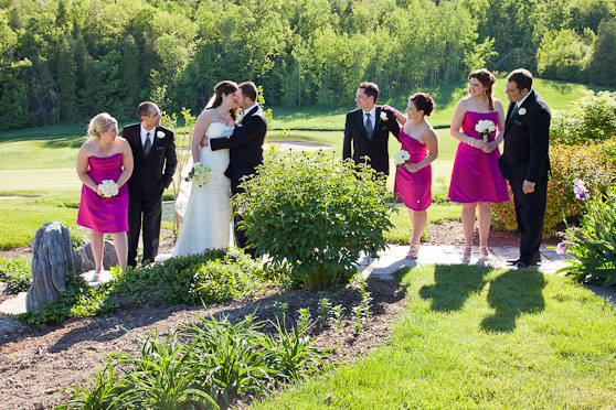 Wedding at Greystone Golf in Milton