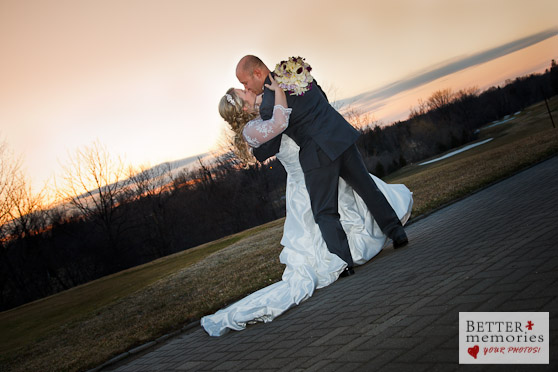 Oshawa Golf Club April Wedding